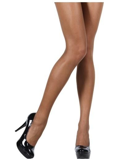 Pierre Cardin 3'Lü Süper İnce Mat Külotlu Çorap Vizon